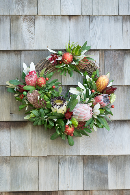 Grapevine Partial Christmas Wreath